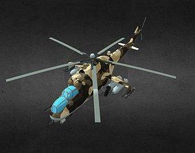 Mi24P Chernobyl 3D model