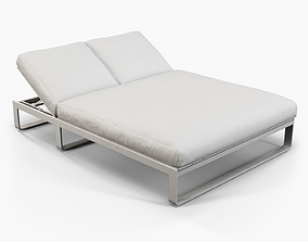 Gandia Blasco Flat chill bed furniture 3D model
