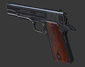 3D model Colt 1911 - Game mesh