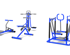 3D model realtime Kid Play Fitness