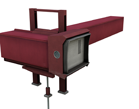 3D model Airport Jetbridge T-Style