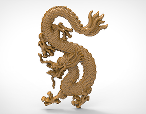 Dragon relief 3d stl models for artcam and aspire