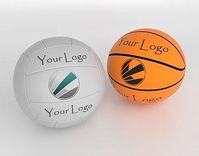 3D Ball Volley Basket