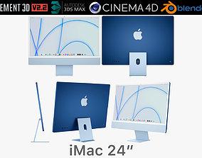 Apple iMac 24 - 2021 3D model