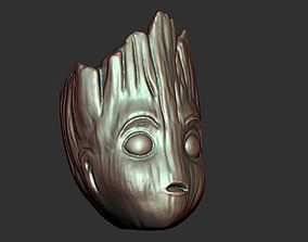 3D print model Baby Groot beads
