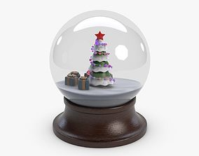3D asset New Year Orb