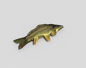 low poly fish 3D model