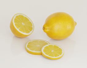 3D PBR lemon