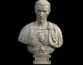 Caesar Bust 3D asset