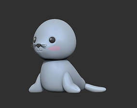 3D print model Little seal
