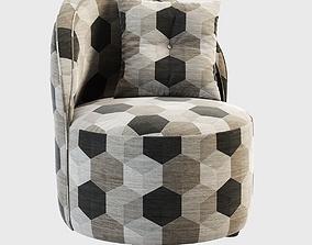 La Fibule Kiss Armchair 3D