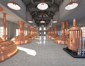 Brewery budweiser 3D model