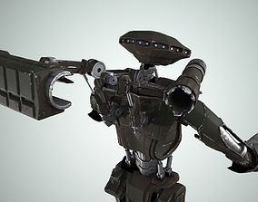 Robot 3D model fantasy