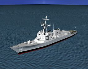 Burke Class Destroyer DDG 67 USS Cole 3D