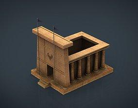3D model Egyptian Temple