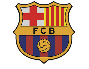 FC Barcelona Wall Sign 3D printable model wall
