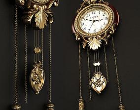 Hoiyu wall clock 3D