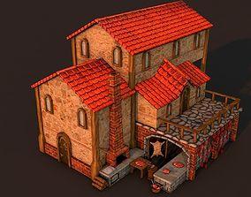 Rome Butcher 3D asset