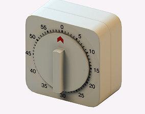 Kitchen timer 3D asset