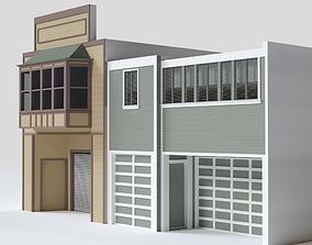 3D San Francisco Lili St Building