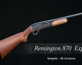 3D model Remington 870 Express