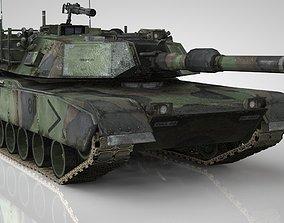 3D model American Main Battle Tank