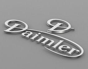 daimler logo 3D