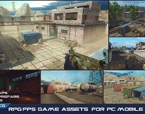realtime RPG FPS Game Assets for PC Mobile Industrial Set
