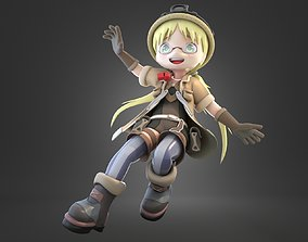 3D Riko Anime Made in Abyss