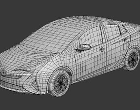 Toyota Prus50 3D printable data 3D print model