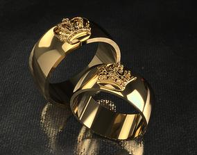 valentine Ring 0230a-b 3D printable model