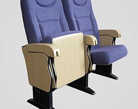 3D model Cinema Seat Blue