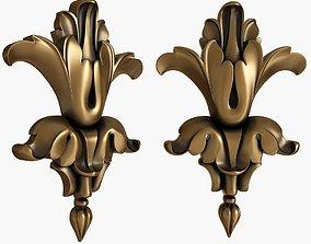 3D model carved decor