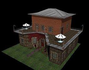 Double Story House 3D asset