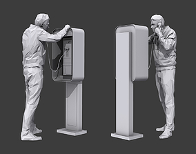 3D asset Phone Talk