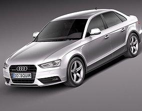 Audi A4 sedan 2013 3D