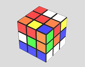 Rubiks cube game 3D
