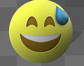 Emoji 3D printable model 3d