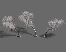 Winter snow - tree 3D