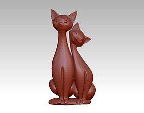 3D print model Cat pussy decoration