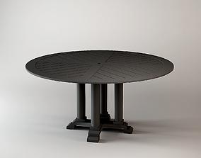 DINING TABLE BELL RIVE Eichholtz 160 CM 3D model