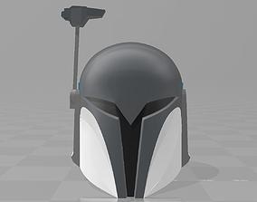 3D printable model star wars clone wars nite owl bo katan