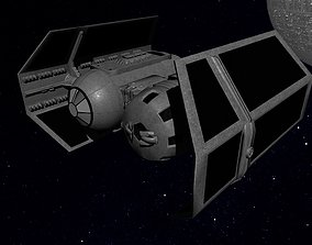 3D asset STAR WARS - TIE BOMBER