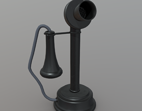 3D model game-ready Old Phone