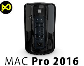 3D model Apple Mac Pro 2016