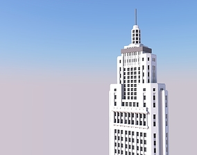 3D printable model Altino Arantes Building