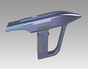 3D model Star Trek The Next Generation Romulan Disruptor
