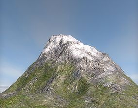 Terrain mountain 3D