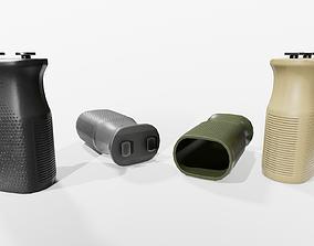 Magpul MVG MLOK Vertical Grip 3D asset