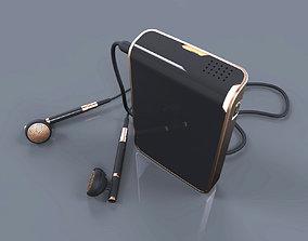 Mini music video devicer design 3d modeling source